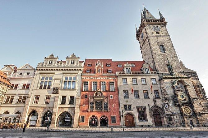 Bilhete de entrada para a Prefeitura de Praga