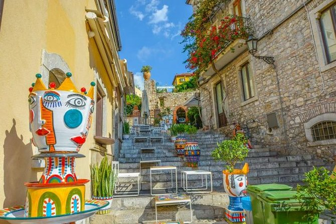Taormina, Savoca and Castelmola one day tour small group