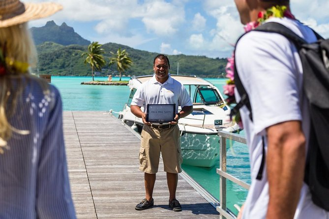 Bora Bora Private Arrival Airport to Hotels Transfer