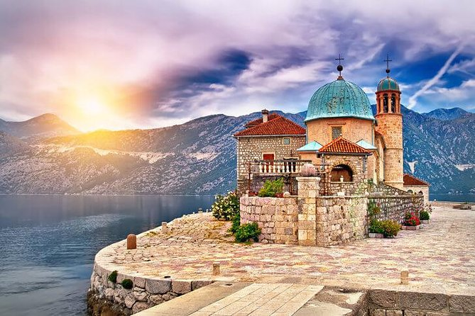 Kotor Port to Perast, Our Lady of The Rocks, Kotor Old Town