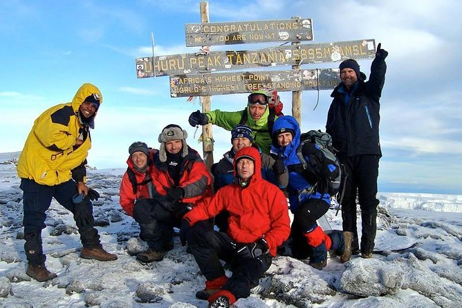 8 Days Mt Kilimanjaro Climbing via Lemosho Route