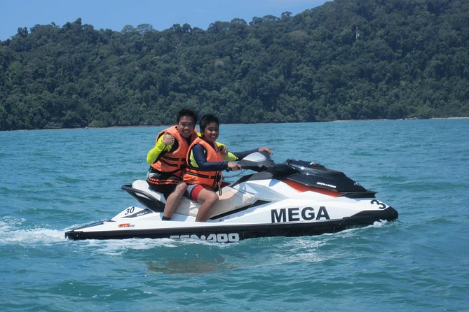 Jet Ski Tour of Langkawi Fishing Village with Lunch