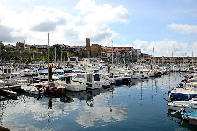 Getaria, Workshop Of Sea Products And San Sebastian
