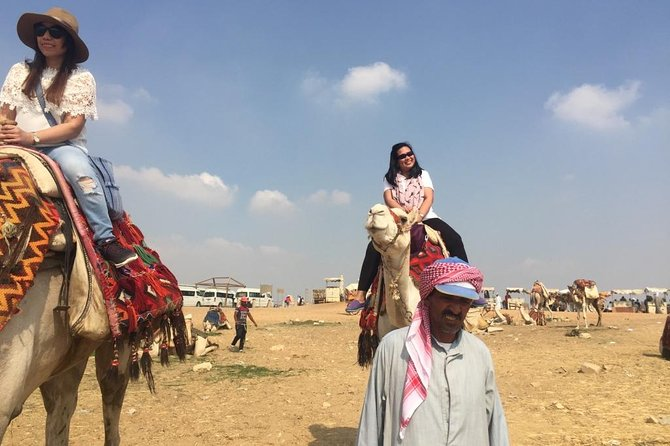Layover Tour To Pyramids of Giza with Camel Ride