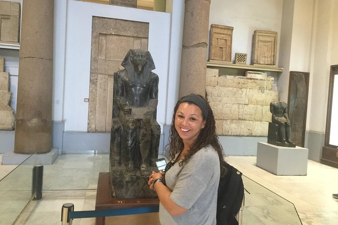 Layover Tour to Egyptian Museum and Nile Felucca
