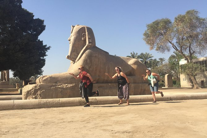 Day tour with Guide to Giza Pyramids, Saqqara, Dahshur and Memphis from Cairo