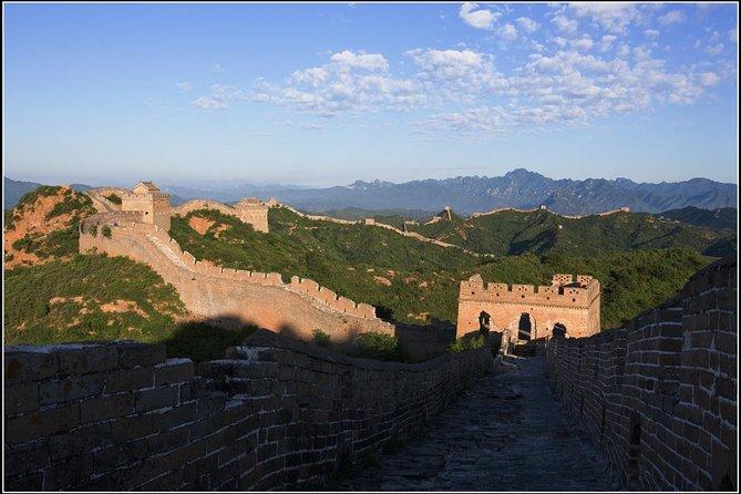 Excursão de grupo pela Grande Muralha de Pequim Jinshanling