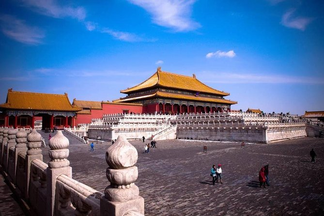 Beijing Forbidden City And Mutianyu Great Wall Bus Group Tour