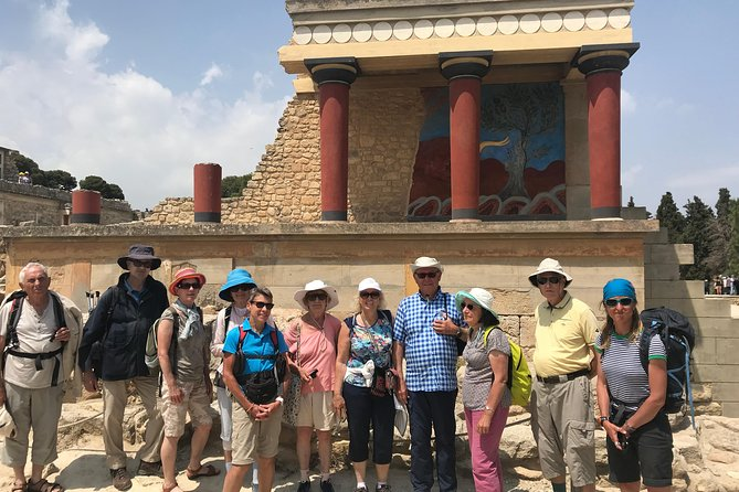Knossos Palace & Archaeological Museum of Heraklion Guided Walking Tour
