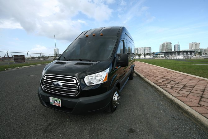 Transit Van Group Transfer in San Juan