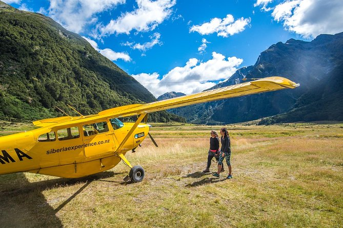 Wilderness Adventure Including Scenic flight Self-guided Hike and Jet Boat Ride