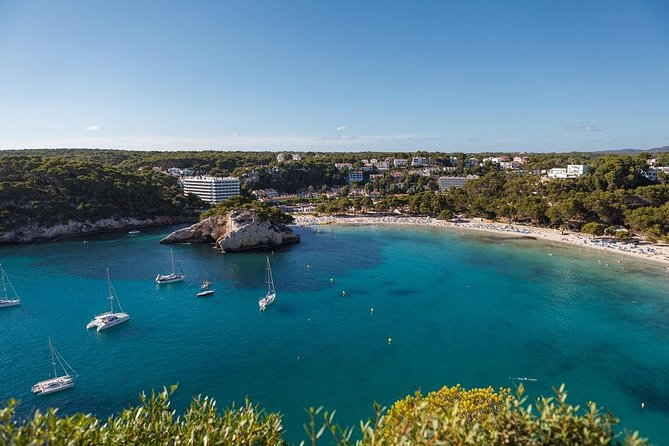 Visit Cala Galdana , white-sand beach in Menorca at your own pace