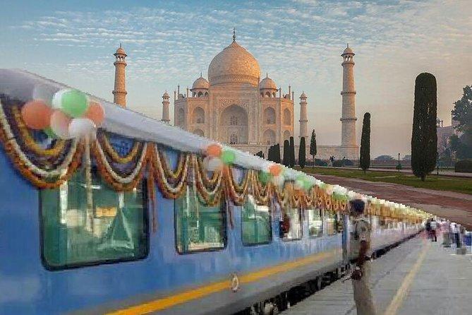 Taj Mahal Day Trip with Fatehpur Sikri from Delhi by Train (Shatabdi Exp to Shatabdi Exp)