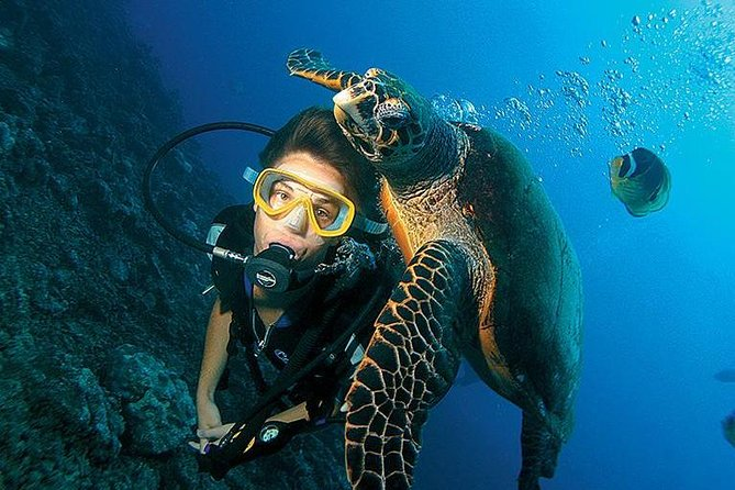 Scuba Diving full of adrenaline in Antalya