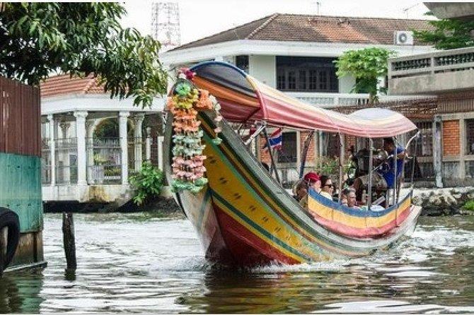 Shore Excursion: Canals of Bangkok from Laem Chabang