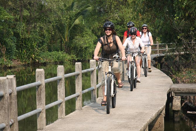 Shore Excursion: Bangkok Jungle Tour per fiets vanuit Laem Chabang