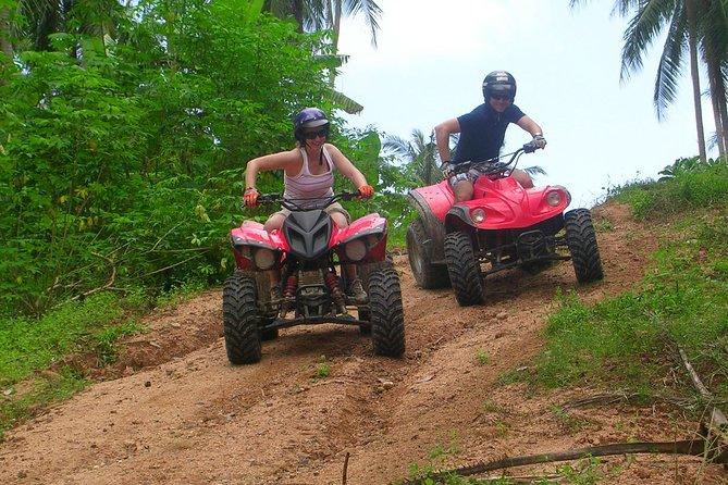 Koh Samui ATV Tour vanuit de haven van Nathon