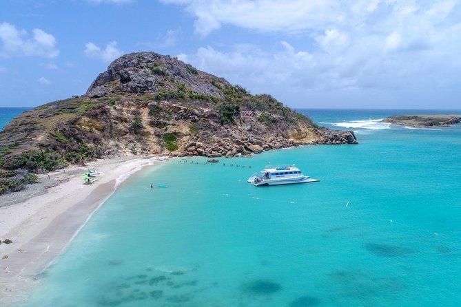 Ponce Beach Trip by catamaran to Caja de Muertos