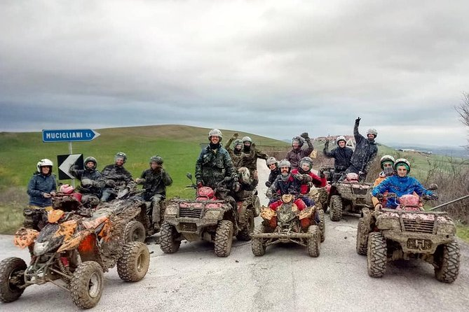 Exciting Wine Tasting ATV tour in the Tuscan countryside