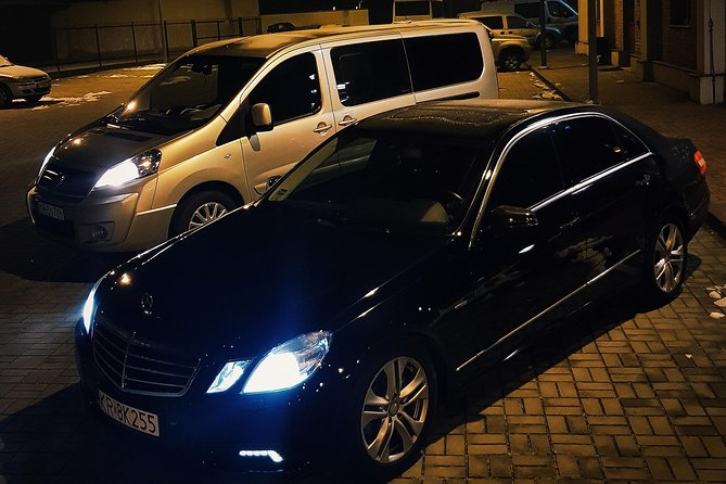 Transfers From Krakow to Prague with private car and English Speaking Driver