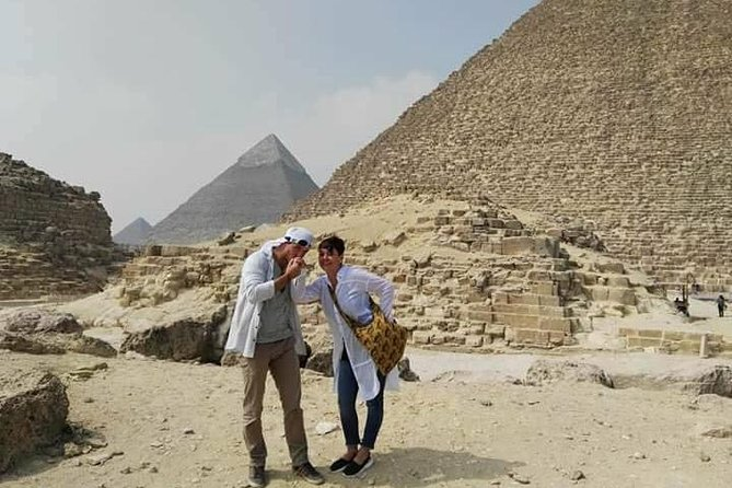 full day tour to the Giza Pyramids, Sphinx, Memphis, Saqqara