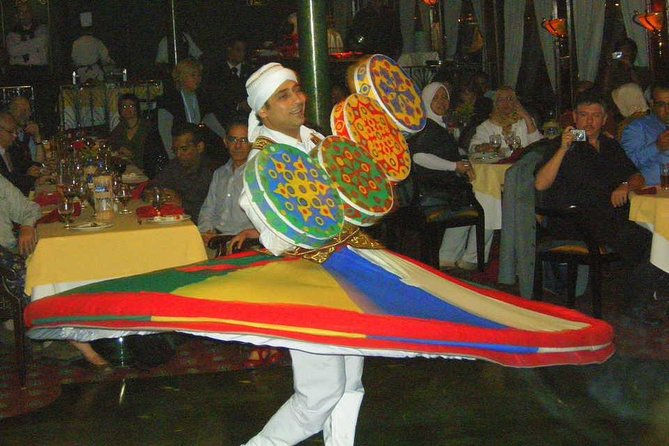 Nile River Dinner Cruise from Cairo with Live Entertainment