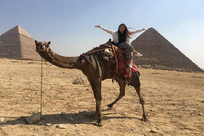Explore Giza Pyramids and Memphis and Saqqara and Dahshur from Cairo