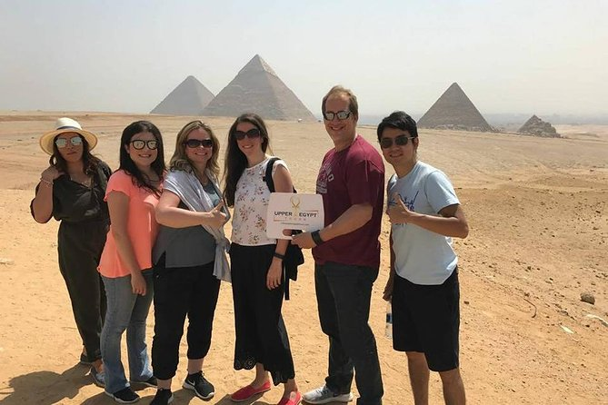 Giza pyramids Sphinx Sakkara and Memphis Tour from Cairo