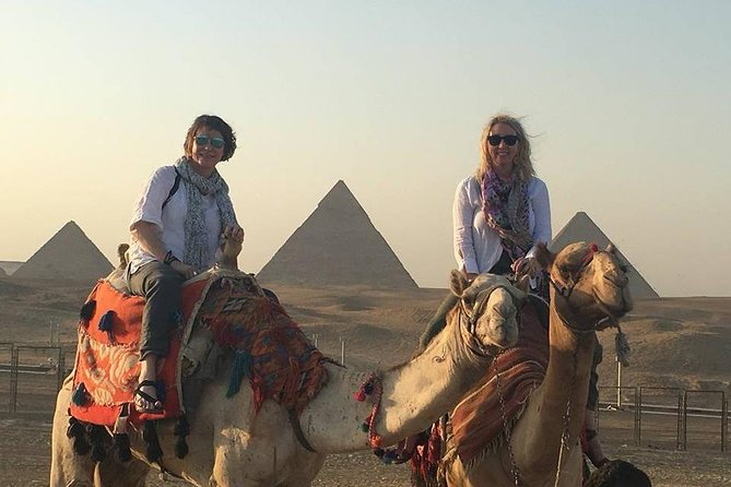 Private Day Tour to Giza Pyramids by Camel