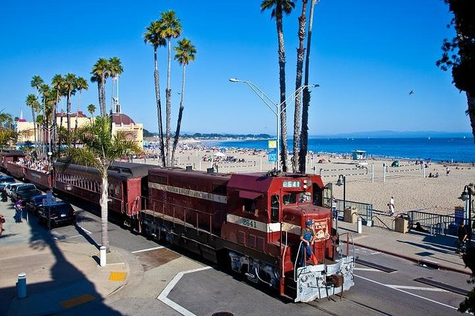 Beach Train from Roaring Camp through Redwoods to Santa Cruz