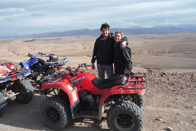 HALF DAY QUAD BIKING, lake Takerkoust & Desert Agafay