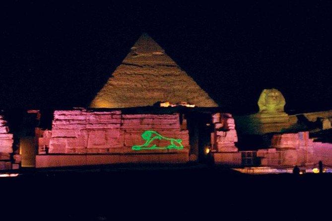 Nacht Tour nach Giza Pyramiden Sound & Light Show mit privaten Transfers