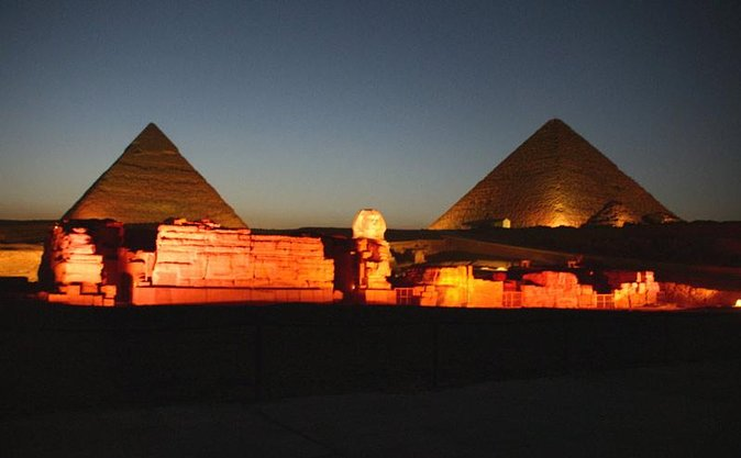 Night Tour to the Giza Pyramids and Sphinx for the Sound & Light Show