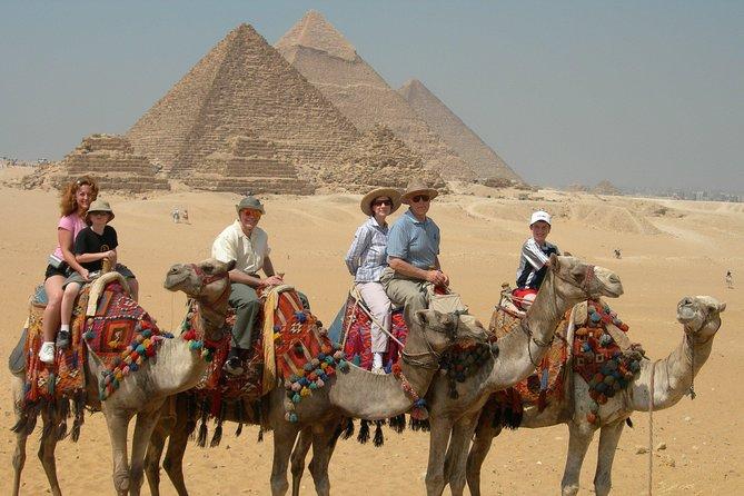 Full day tour to Giza pyramids,Sakkara pyramids&Memphis,Include Lunch&Camel ride