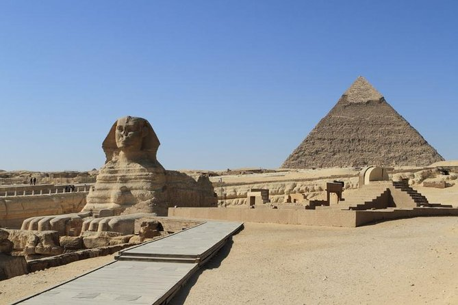 Full Day private Tour to Giza Pyramids, Sakkara, Citadel and Egyptian Museum