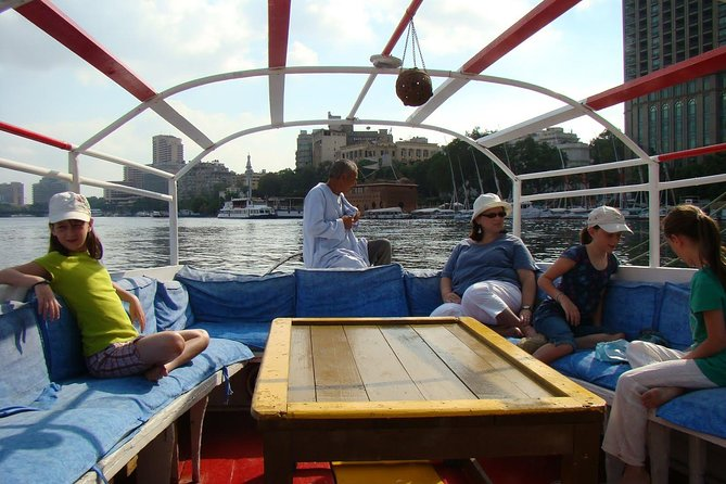 Felucca Ride and Half day tour to Giza Pyramids