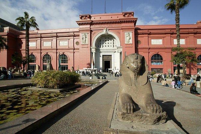Giza Pyramids, Sakkara, Citadel and Egyptian Museum Full Day private Tour