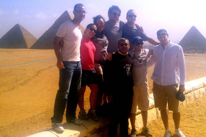Private Full-Day Tour to Giza Pyramids, Sphinx, Saqqara Pyramids, and Memphis