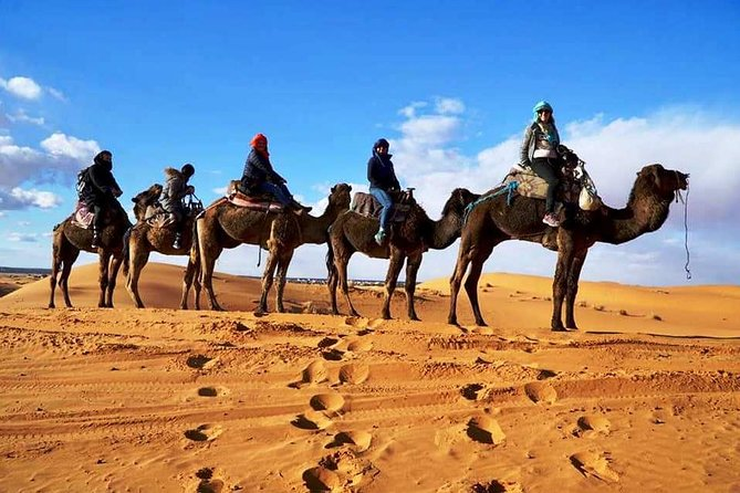 Private 4 Days Tour To Merzouga Desert from Marrakech