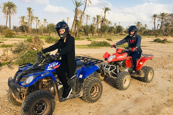 Private Quad Biking Safari In The Palm Grove Of Marrakech And Berber Home Tea