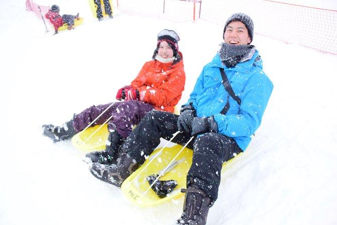 GALA Yuzawa Resort: Sledding, gondola free ticket, gloves purchase, and boots & snow wear rental package (WAmazing 6700 4550)