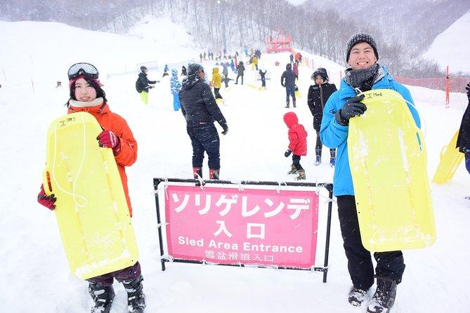 GALA Yuzawa Resort: Sledding, round-trip gondola ticket and boots rental package (WAmazing 2200 1300)