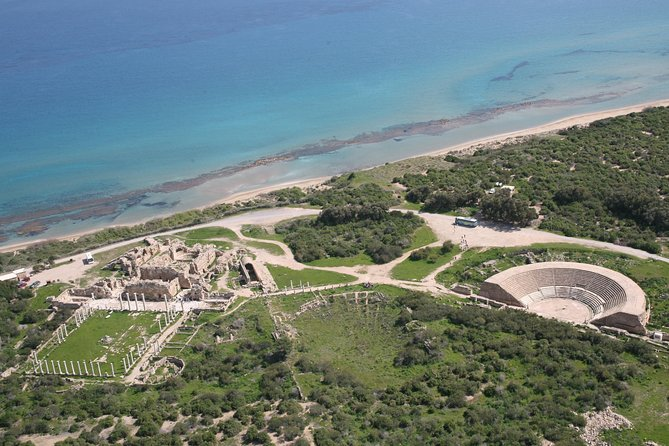 Salamis Ancient Kingdom and Famagusta from Aphrodite Hills and Pissouri Bay