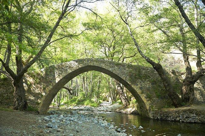 Tzelefos Bridge Troodos Mountain