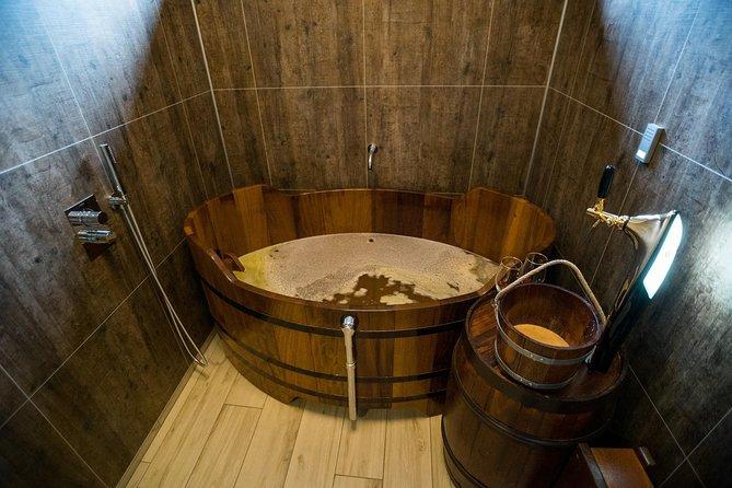 Experiencia de cerveza en el spa
