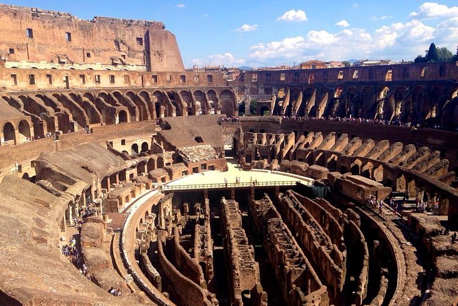 Colosseum Underground and Ancient Rome Semi-Private Tour MAX 6 PEOPLE GUARANTEED