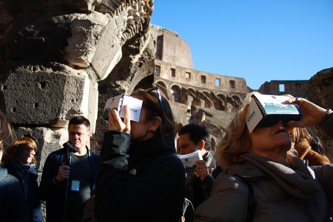 Semi-Private Tour of the Colosseum and Forum with Arena Floor, Gladiator Entrance and Virtual Reality