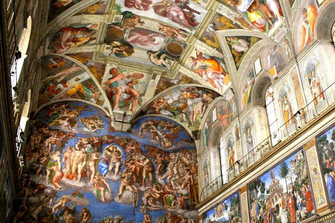 Small Group Tour Express Access to Sistine Chapel in Rome
