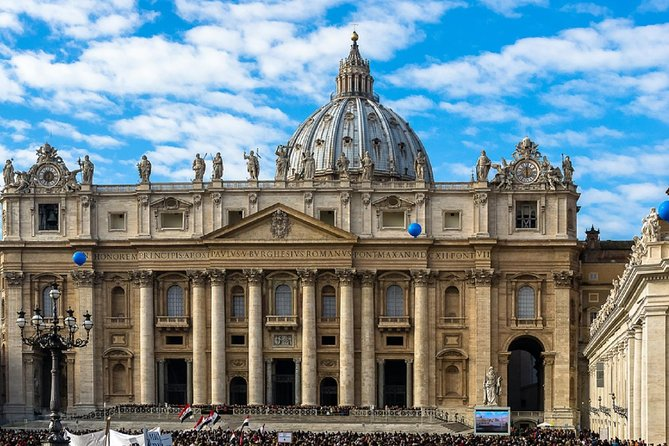Michelangelo's Dome & the Papal Tombs - St Peter's Basilica Small Group Tour