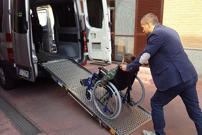Rome Civitavecchia Accessible Private Shore Excursion for wheelchair users